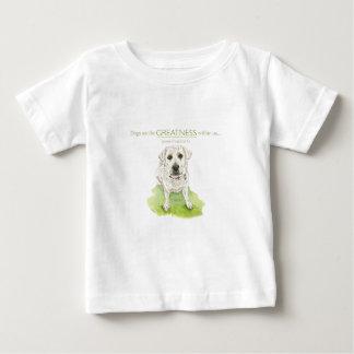 Los perros ven la grandeza dentro de nosotros camiseta de bebé