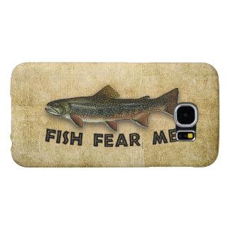 Los pescados me temen pesca divertida funda samsung galaxy s6