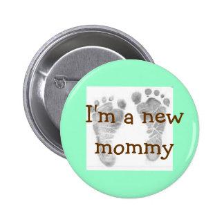 los pies 1 del bebé, soy una nueva mamá pins