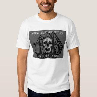 Los Piratas del Caribe Mexicana Camisetas
