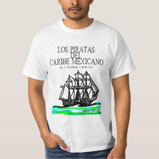 Los Piratas del Caribe Mexicano 2012 #1 Camiseta