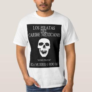 Los Piratas del Caribe Mexicano Camisetas