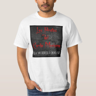 Los Piratas (quatro del numero) Camisas