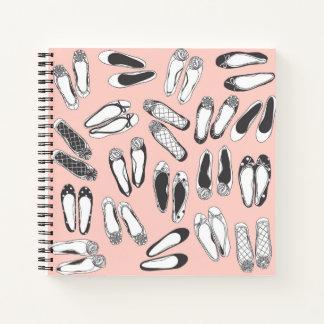 Los planos del ballet palidecen - el cuaderno