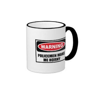 Los POLICÍAS amonestadores ME HACEN la taza CÓRNEA