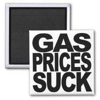 Los precios de la gasolina chupan imán cuadrado