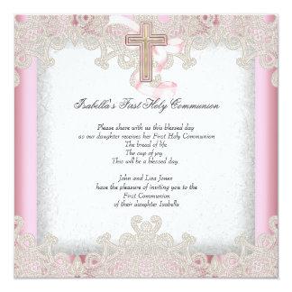 Los primeros 1ros chicas de la comunión santa invitación