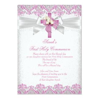 Los primeros 1ros chicas de la comunión santa anuncio personalizado