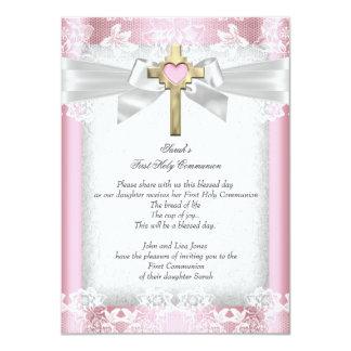 Los primeros 1ros chicas de la comunión santa invitación 11,4 x 15,8 cm