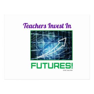 Los profesores invierten en futuros postal