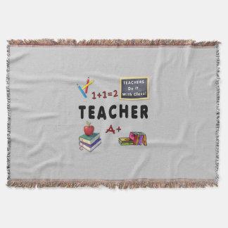Los profesores lo hacen con la clase manta
