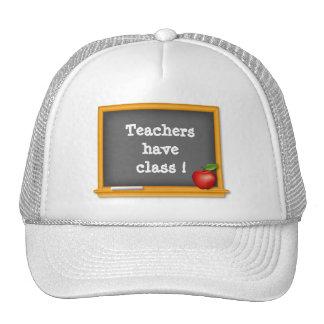¡Los profesores tienen clase! Gorras