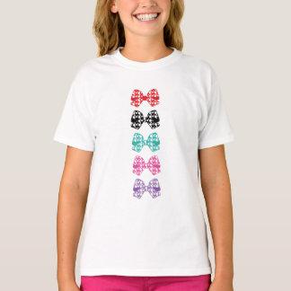 Los puntos blancos de los Colorido-Arcos se Camiseta