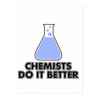 los químicos mejora tarjetas postales