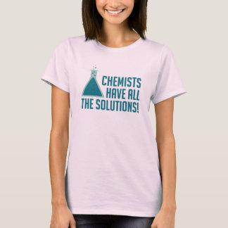 Los químicos tienen todas las soluciones camiseta