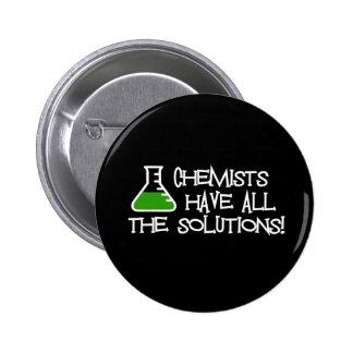 Los químicos tienen todas las soluciones chapa redonda de 5 cm