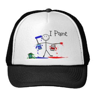 """Los regalos de los pintores """"pinto"""" diseño de la g gorra"""