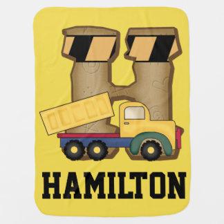 Los regalos personalizados de Hamilton Mantita Para Bebé
