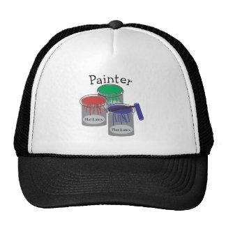 Los regalos profesionales del pintor, pintura pued gorras