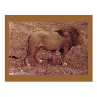 Los relojes del león postal