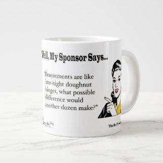 Los resentimientos son como el buñuelo de última taza de café gigante