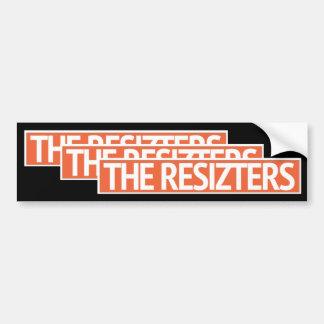Los RESIZTERS - Pegatina para el parachoques