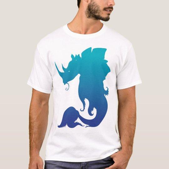 Los Rinoceronte-Stego-Pescados juntan con te (el Camiseta