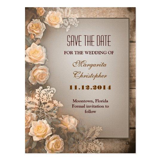 los rosas de damasco del victorian ahorran las postal