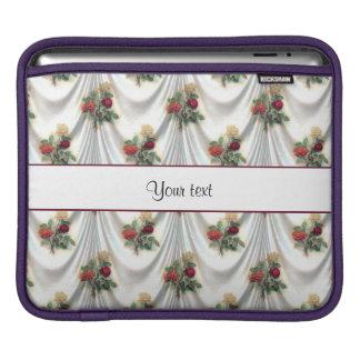 Los rosas románticos y cubren funda para iPad