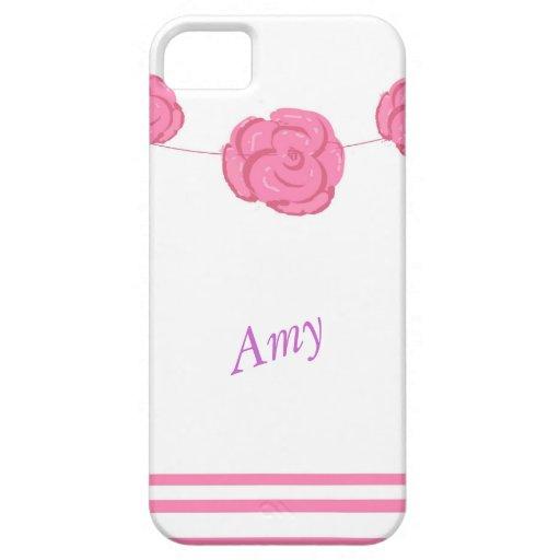 Los rosas y los casos rosados del iPhone de las ra iPhone 5 Cárcasas