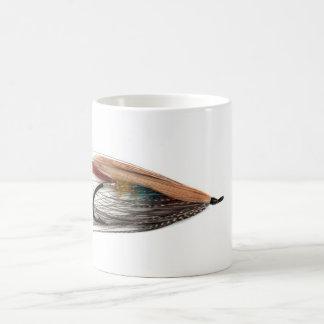 Los salmones tricolores vuelan la taza