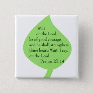Los salmos 27-14 consolidan el botón