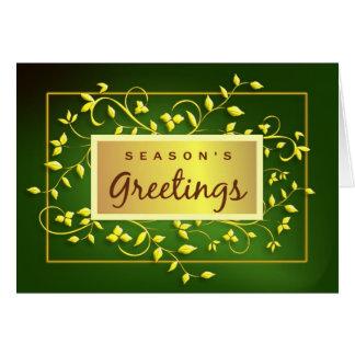 Los saludos de la estación - tarjeta de felicitaci
