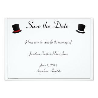 Los sombreros de copa y el boda gay de las comunicado personal