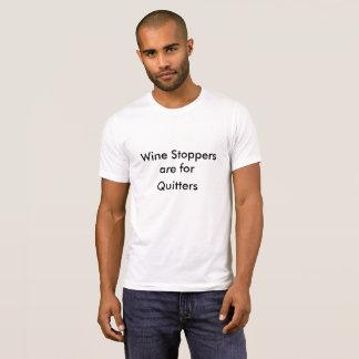 Los tapónes del vino están para la camiseta de los