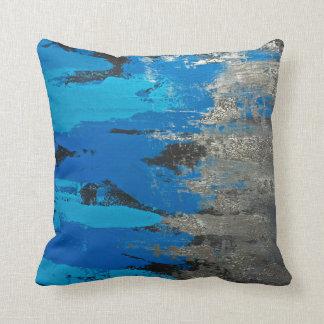 Los Tennessee Titans inspiraron azules Cojín Decorativo