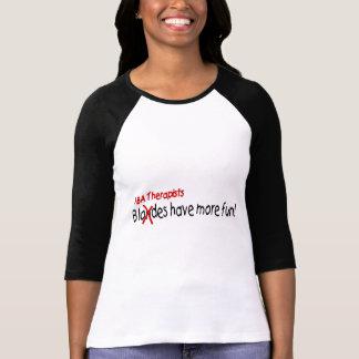 Los terapeutas del ABA se divierten más Camisetas