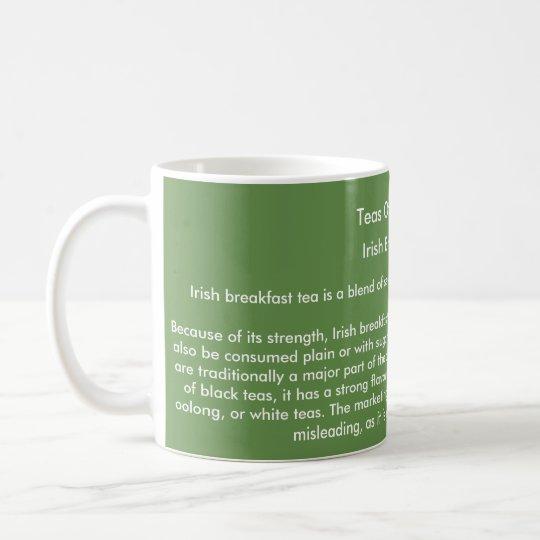 """Los """"tés del mundo"""" asaltan - té irlandés del taza de café"""