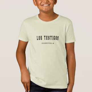 Los Testigos Venezuela Camiseta