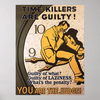 Los Tiempo-Asesinos son culpables Póster