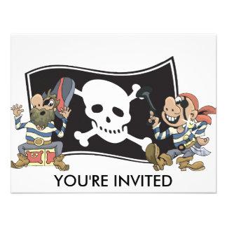 Los tíos del pirata añaden el texto anuncios