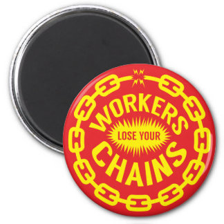 Los trabajadores pierden su imán de las cadenas