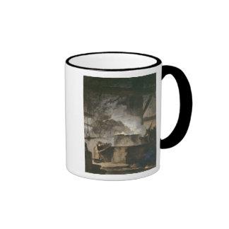 Los trabajos del salitre tazas de café