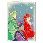 Los Tres Reyes Tarjetas