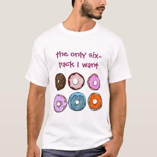 Los único seis paquetes quiero la camisa del