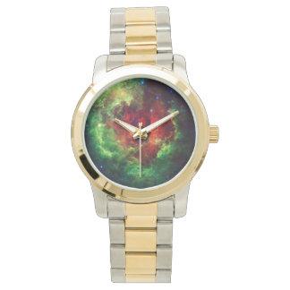 Los unicornios subió la nebulosa del rosetón reloj de pulsera