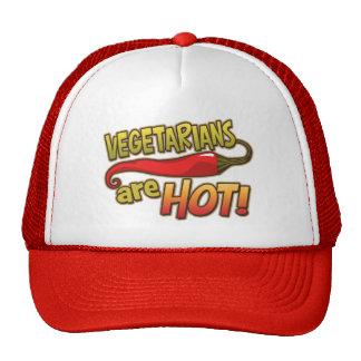 Los vegetarianos son gorra caliente del camionero
