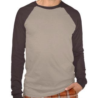 Los vegetarianos son raglán largo básico caliente  camiseta