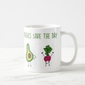 Los Veggies ahorran la taza del aguacate y del