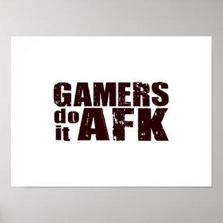 Los videojugadores lo hacen AFK Póster